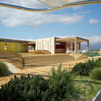 Renderingstudio Architetture per i litorali Poetto 02