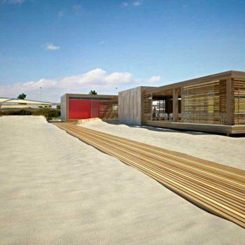 Renderingstudio Architetture per i litorali Poetto 04