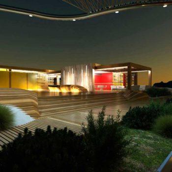 Renderingstudio Architetture per i litorali Poetto 05