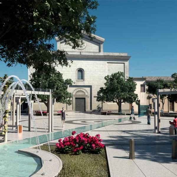 Renderingstudio Piazza San Giorgio Quartucciu 03